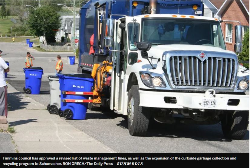 City sets new fines for breaching waste collection bylaw